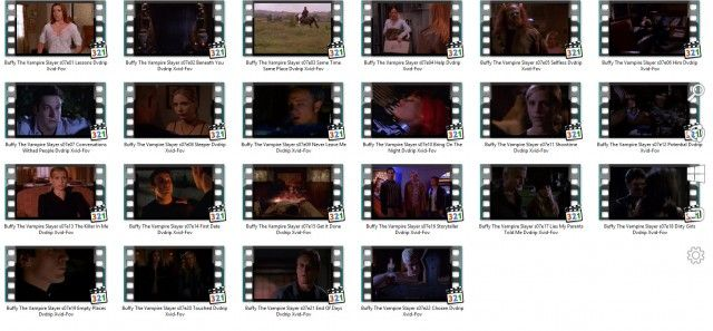 Buffy, S7 - Windows Explorer